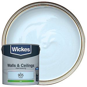 Wickes Powder - No. 905 Vinyl Silk Emulsion Paint - 2.5L