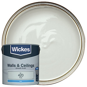 Wickes Putty - No. 420 Vinyl Matt Emulsion Paint - 2.5L