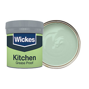 Wickes Sage - No. 805 Kitchen Matt Emulsion Paint Tester Pot - 50ml