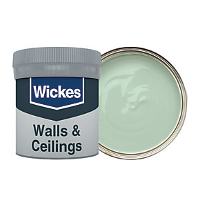Wickes Sage - No. 805 Vinyl Matt Emulsion Paint Tester Pot - 50ml