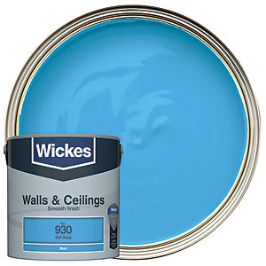 Wickes Sail Away - No. 930 Vinyl Matt Emulsion Paint - 2.5L