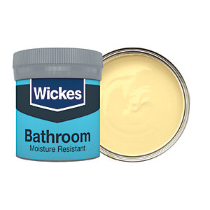 Wickes Summertime - No. 505 Bathroom Soft Sheen Emulsion Paint Tester Pot - 50ml