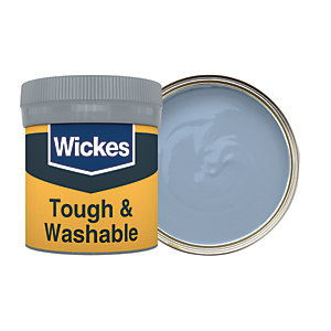 Wickes Tidal Wave - No. 945 Tough & Washable Matt Emulsion Paint Tester Pot - 50ml