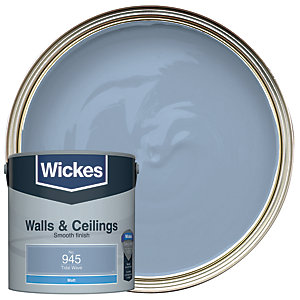Wickes Tidal Wave - No. 945 Vinyl Matt Emulsion Paint - 2.5L