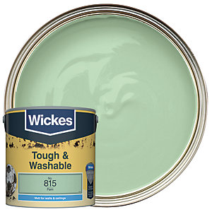 Wickes Tough & Washable Matt Emulsion Paint - No. 815 Fern 2.5L