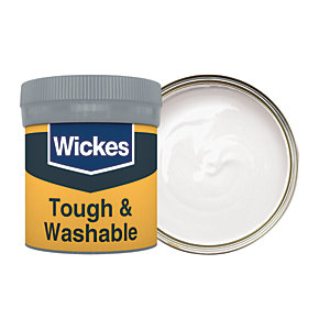 Wickes Tough & Washable Matt Emulsion Paint Tester Pot - No. 140 Powder Grey 50ml