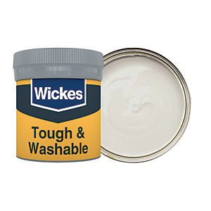 Wickes Tough & Washable Matt Emulsion Paint Tester Pot - No. 230 Shadow Grey 50ml