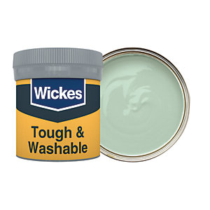 Wickes Tough & Washable Matt Emulsion Paint Tester Pot - No. 805 Sage 50ml