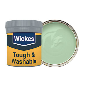 Wickes Tough & Washable Matt Emulsion Paint Tester Pot - No. 815 Fern 50ml