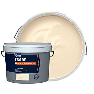 Wickes Trade Emulsion Paint for New Plaster - Magnolia 15L