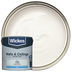 Wickes Vinyl Matt Emulsion Paint - No. 155 Falling Feather 2.5L