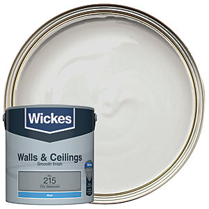 Wickes Vinyl Matt Emulsion Paint - No. 215 City Statement 2.5L