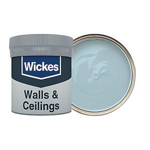 Wickes Vinyl Matt Emulsion Paint Tester Pot - No. 225 Rock Pool 50ml
