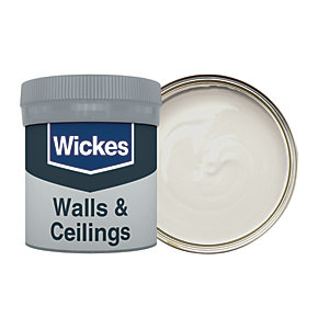 Wickes Vinyl Matt Emulsion Paint Tester Pot - No. 230 Shadow Grey 50ml