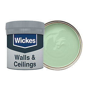Wickes Vinyl Matt Emulsion Paint Tester Pot - No. 815 Fern 50ml