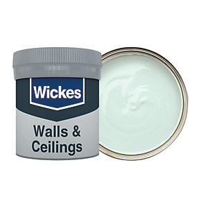 Wickes Vinyl Matt Emulsion Paint Tester Pot - No. 900 Duck Egg 50ml