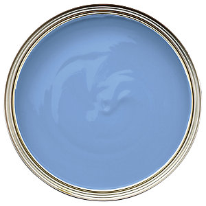 Wickes One Coat Gloss Paint - Bluebell 750ml