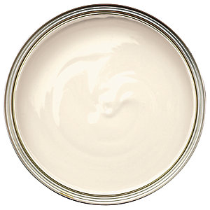 Wickes One Coat Satinwood Paint - Ivory 750ml