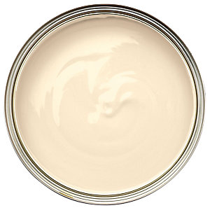 Wickes Quick Dry Gloss Paint - Magnolia 750ml