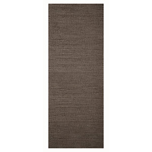 Wickes Milan Charcoal Grey Real Wood Flush Internal Door - 1981mm x 762mm