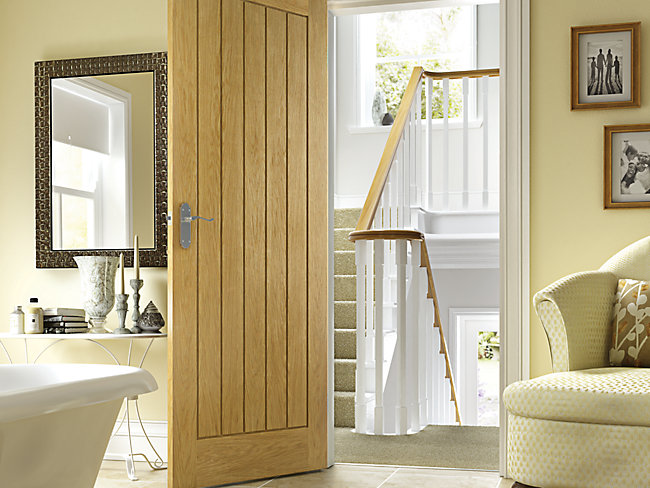 Internal Oak Veneer Doors