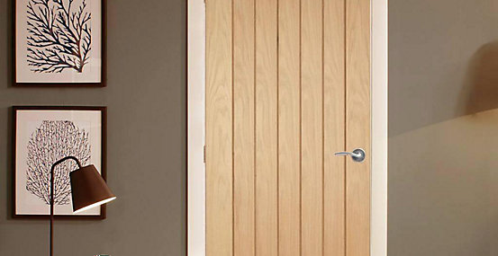 Geneva Oak Cottage Internal Door 1981mm X 762mm