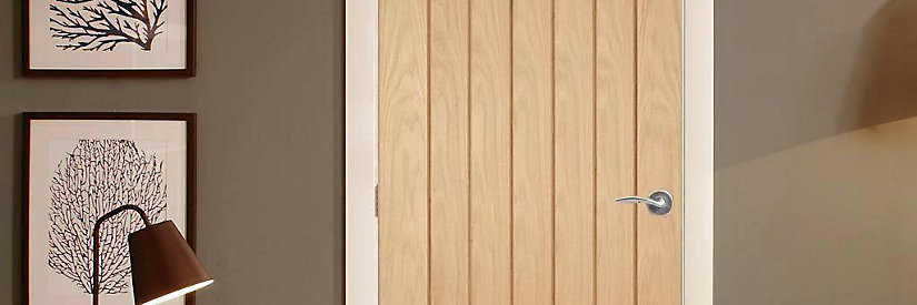 Geneva Oak Veneer Internal Door - 1981mm X 762mm