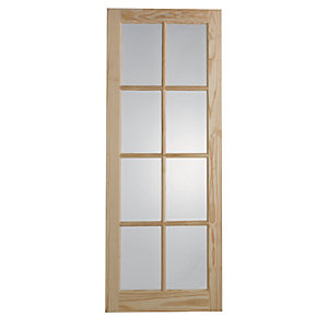 Glazed doors interior timber doors wickes wickes newland internal 8 lite glazed door 1981 x 686mm planetlyrics Images