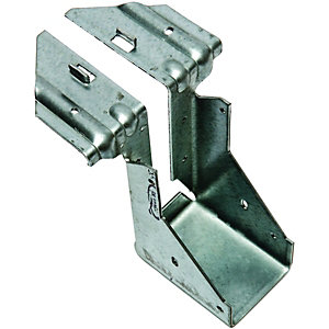 Wickes Galvanised Joist Hanger 50 x 125mm