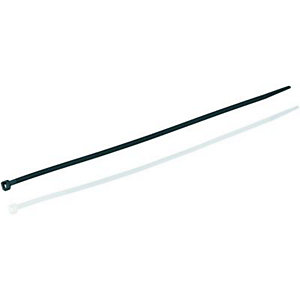 Wickes Cable Ties - Black/White Mixed Size Pack of 250