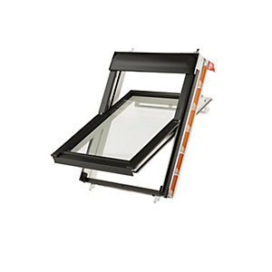 Keylite White Polyurethane Centre Pivot Roof Window