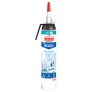 UniBond Anti Mould Easy Pulse Kitchen & Bathroom Sealant White 196g