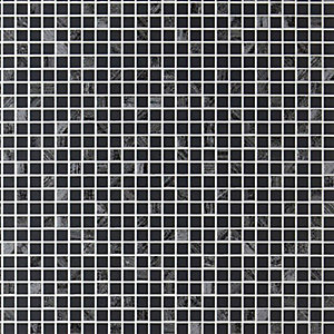 Graham & Brown Contour Aurora Tile Effect  Wallpaper Grey - 10m
