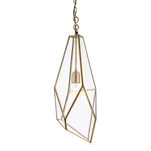Avery Pendant Light Antique Brass