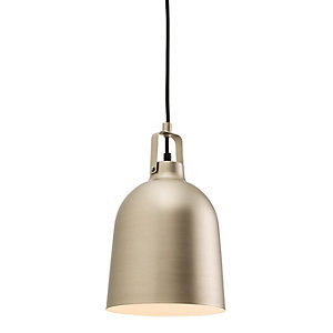 Campana Pendant Light Matt Nickel