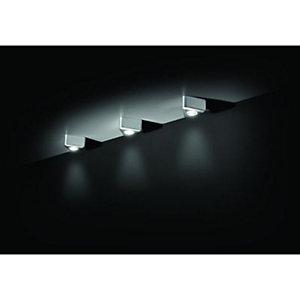 Wickes Komet Triangular Ultra Bright LED Light Kit 3W - Pack of 3