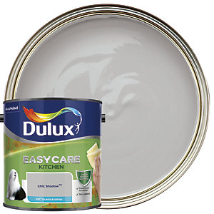 Dulux Easycare Kitchen Matt Emulsion Paint - Chic Shadow 2.5L