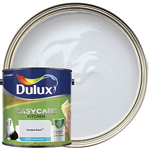Dulux Easycare Kitchen Matt Emulsion Paint - Frosted Steel 2.5L