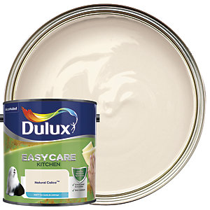 Dulux Easycare Kitchen Matt Emulsion Paint - Natural Calico 2.5L