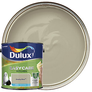 Dulux Easycare Kitchen Matt Emulsion Paint - Overtly Olive 2.5L