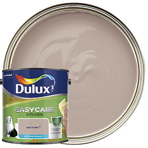 Dulux Easycare Kitchen Matt Emulsion Paint - Soft Truffle 2.5L