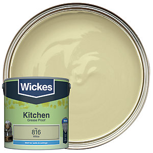 Wickes Willow - No. 816 Kitchen Matt Emulsion Paint - 2.5L