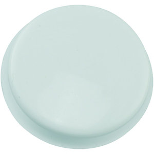 Wickes White Tap Hole Blanking Plate