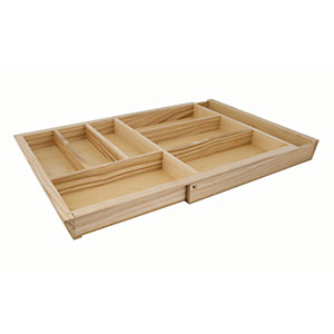 Extendable Cutlery Tray 800-1000mm Ash