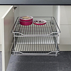 Pull Out Wire Shelves 300mm