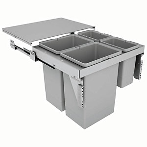 Stanto 60 Waste Bin for 600mm Base Unit 2 x 24 , 2 x 8L Bins