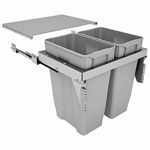 Stanto 60 Waste Bin for 600mm Base Unit 2 x 35L Bins