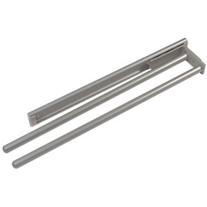Wickes Two Armed Extending Towel Rail