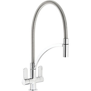 Abode Genio Single Lever Pull Out Tap - Chrome