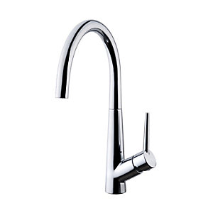 Cone Monobloc Single Lever Kitchen Mixer Tap - Chrome